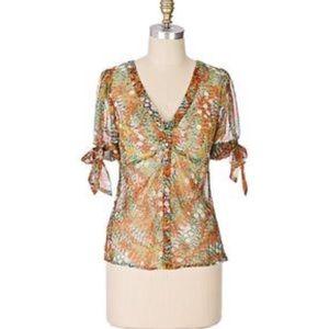 Odille silk blouse size 6
